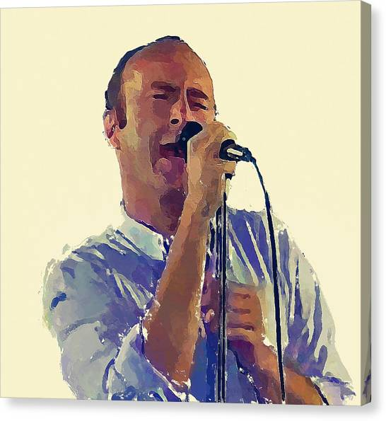 Phil Collins Mama Canvas Print