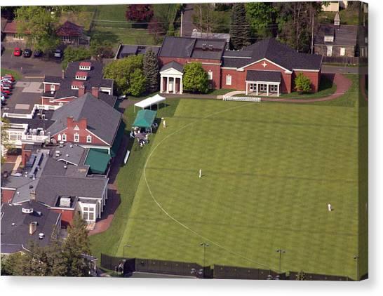 Cricket Club Canvas Print - Philadelphia Cricket Club Squash by Duncan Pearson