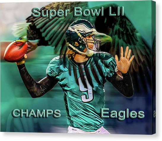 Philadelphia Eagles - Super Bowl Champs Canvas Print