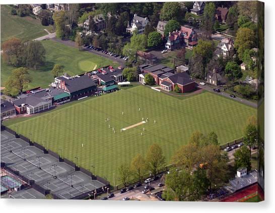 Gcc Canvas Print - Philadelphia International Cricket Festival Pcc by Duncan Pearson