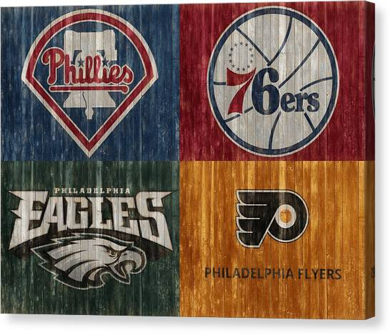 Philadelphia Sports Teams Canvas Print