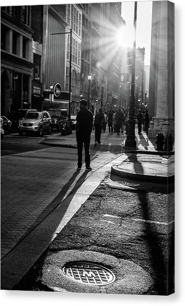 Philadelphia Street Photography - 0943 Canvas Print