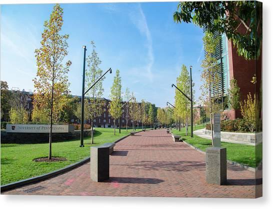 Caa Canvas Print - Philadelphia - University Of Penn by Bill Cannon