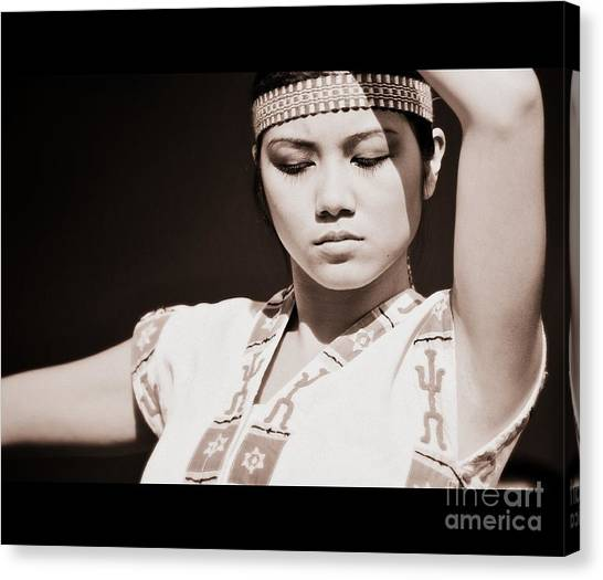 Philippino Dancer Canvas Print