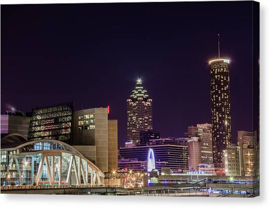 Phillips Arena 2 Canvas Print