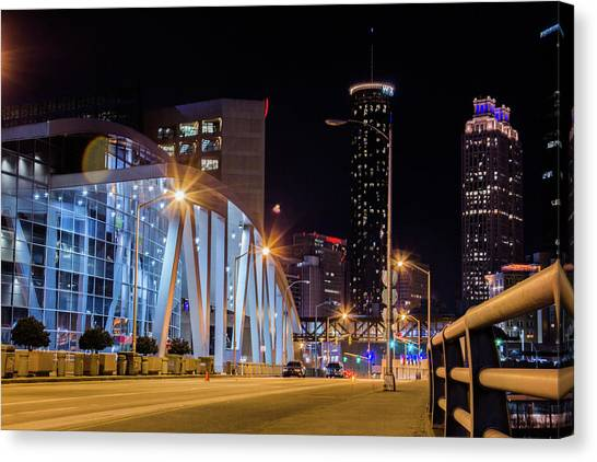 Phillips Arena Canvas Print
