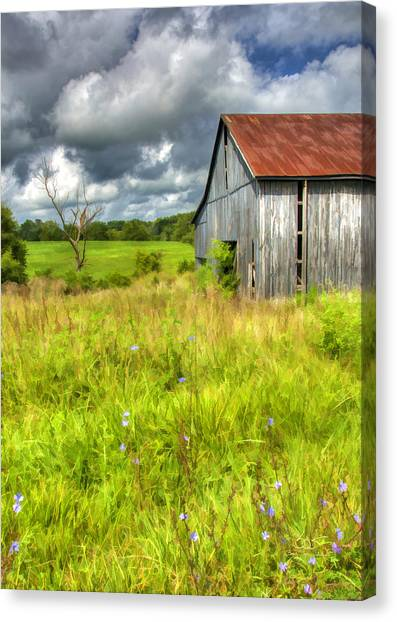 Phillip's Barn Canvas Print