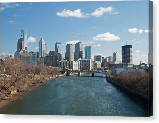 Philly Winter Canvas Print