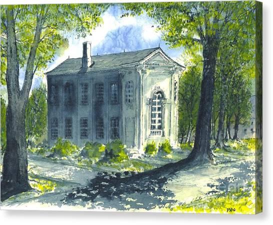 Philo Hall Erskine Canvas Print
