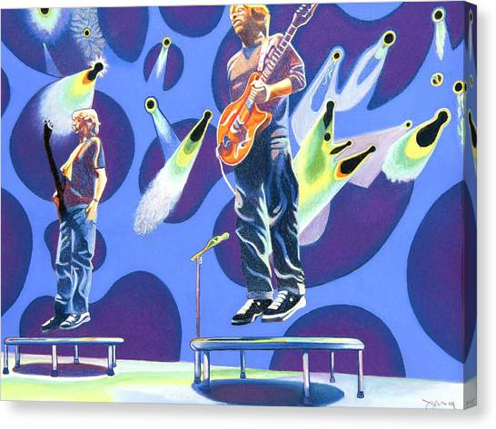Phish Tramps Canvas Print
