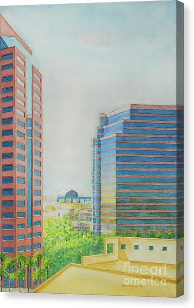 Phoenix II Canvas Print