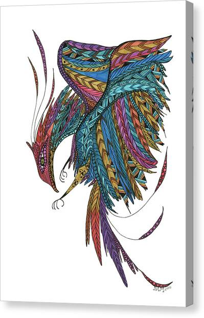 Phoenix Landing Canvas Print