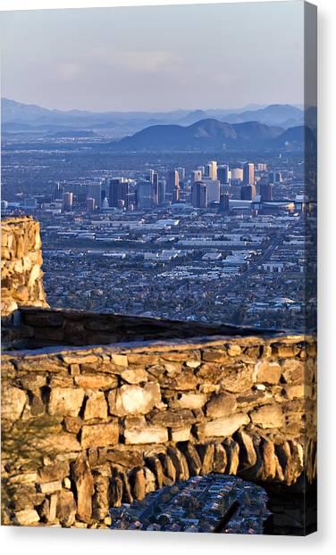 Phoenix Sunrise Canvas Print