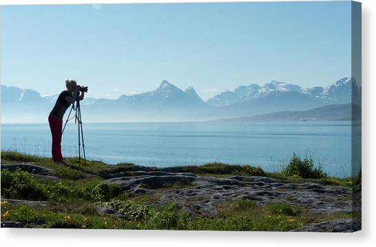 Photograph In Norway Canvas Print