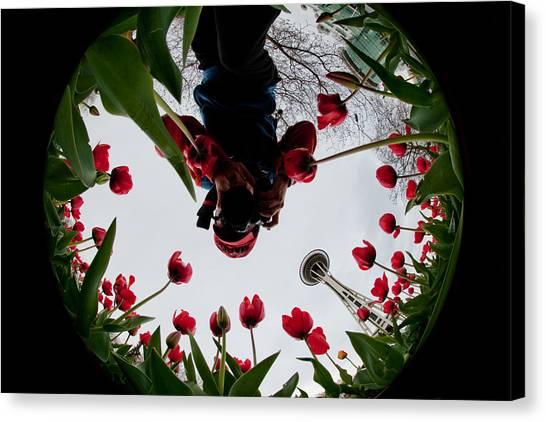 Photographer In Wonderland H084 Canvas Print by Yoshiki Nakamura