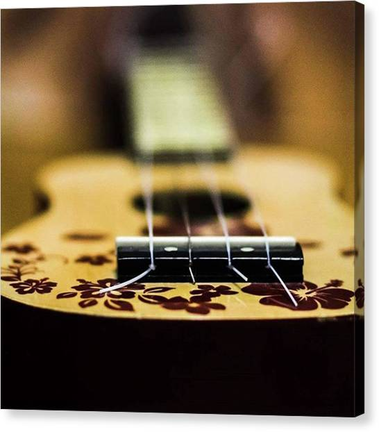 Ukuleles Canvas Print - Photography Is Music For My Eyes. #art by Sue Lyon-myrick Photography