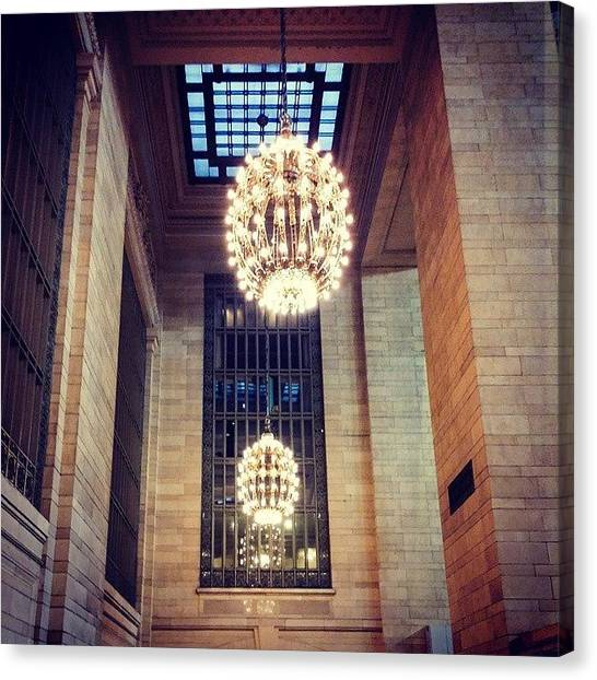Ivory Canvas Print - #photography #nyc #grandcentral by Ivory Scinto