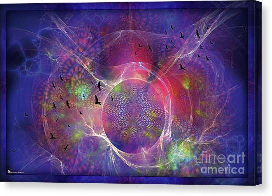 Photon-rings Canvas Print