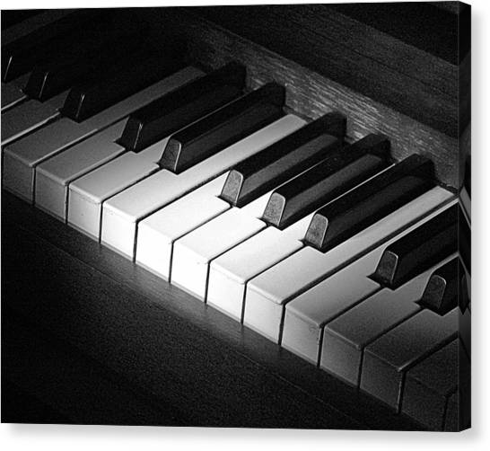 Piano Canvas Print