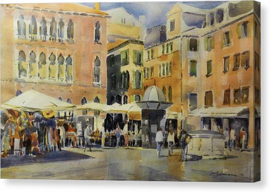 Piazza San Angelo Canvas Print