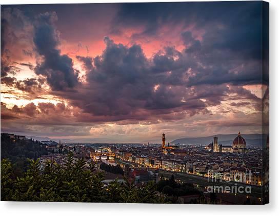 Piazzale Michelangelo Canvas Print