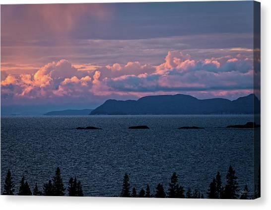 Pic Island Canvas Print