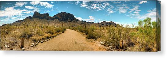 Picacho Peak State Park Panorama Canvas Print