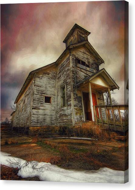 Picher Christian Church Canvas Print
