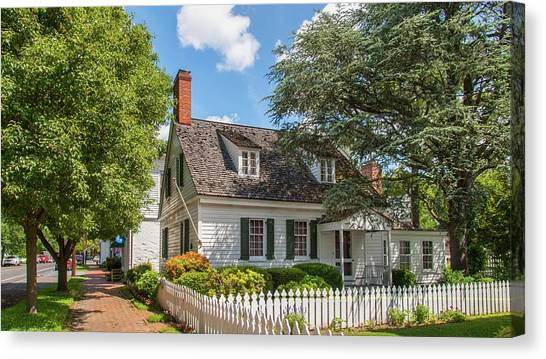 Canvas Print - Picket Fence by Charles Kraus