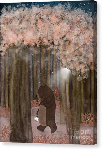 Brown Bears Canvas Print - Pickle Wood by Bri Buckley