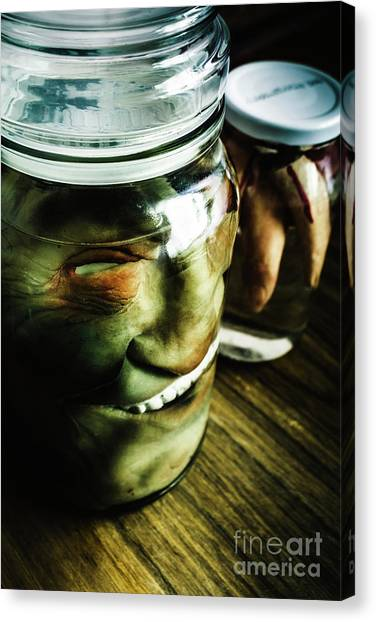 Jaws Canvas Print - Pickled Monsters by Jorgo Photography - Wall Art Gallery