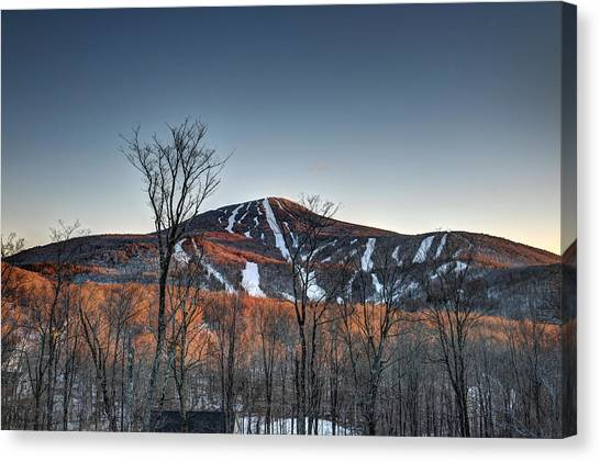 Pico Peak Canvas Print