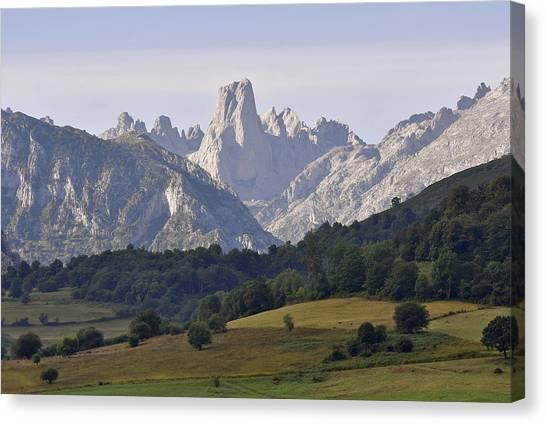 Famous Peak Canvas Print