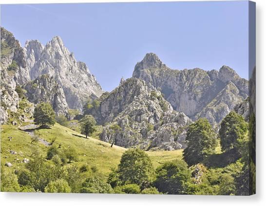 Picos De Europa Mountains Canvas Print