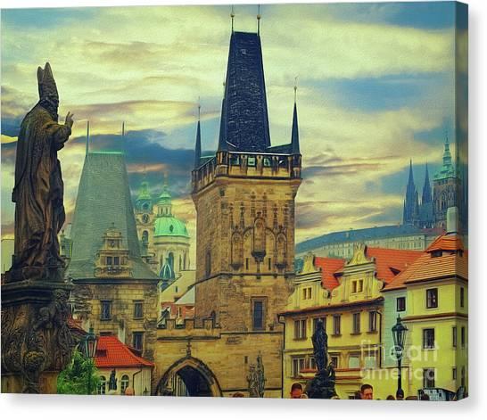 Picturesque - Prague Canvas Print