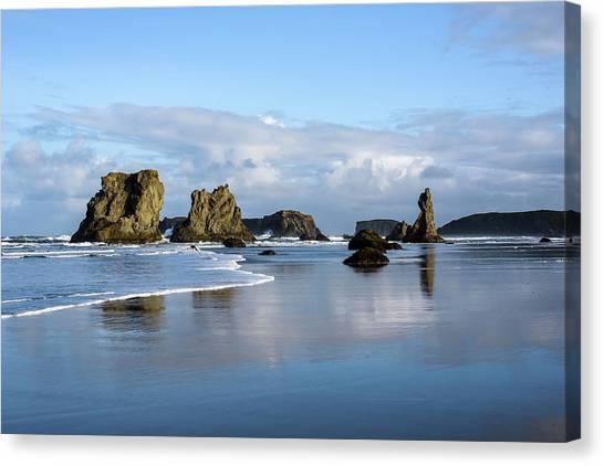 Picturesque Rocks Canvas Print