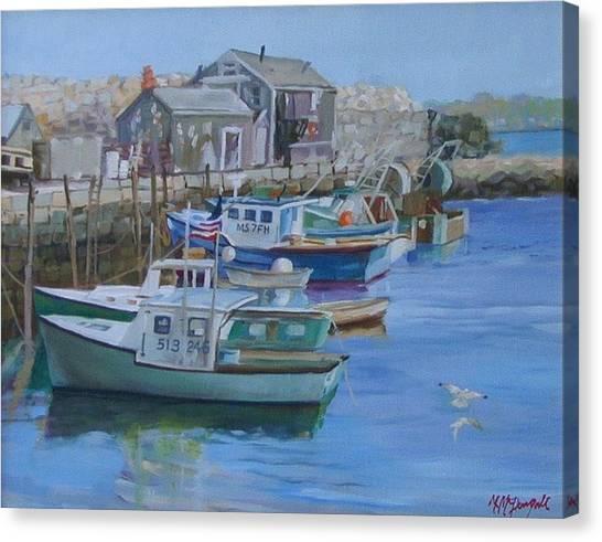 Pidgeon Cove  Canvas Print