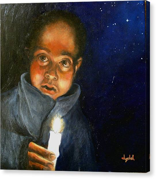 Pidiendo Posada Canvas Print by Ixchel Amor