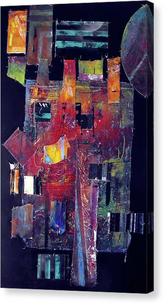 Pieces II Canvas Print by Ralph Levesque