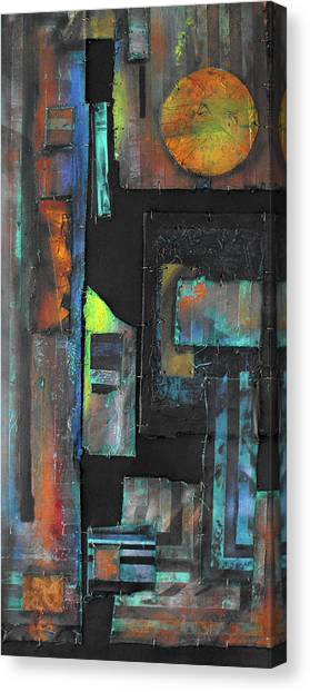Pieces IIi Canvas Print by Ralph Levesque