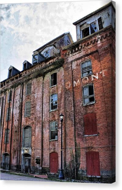Piedmont Mill Canvas Print