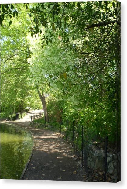 Piedmont Park Path Canvas Print