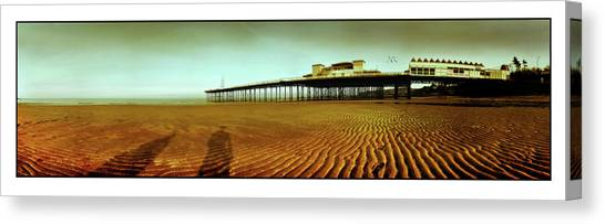 Colwyn Bay Canvas Print - Pier Open Every Day by Mal Bray