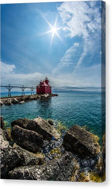 Pierhead Lighthouse Canvas Print