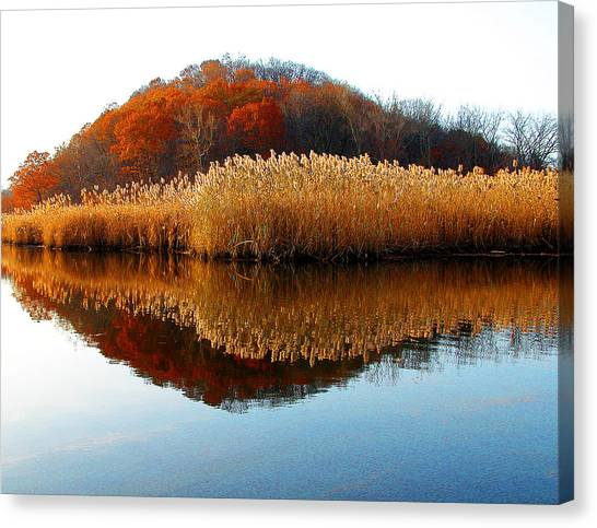 Piermont Backwater Canvas Print