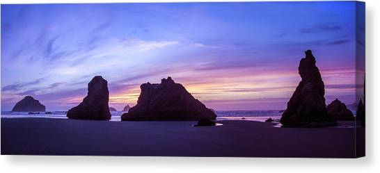 Pillars Of Bandon Canvas Print