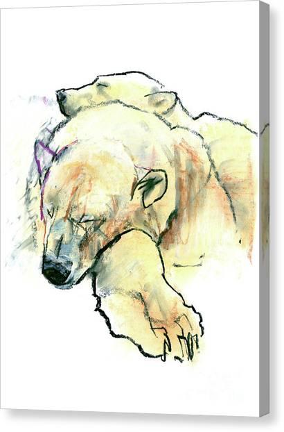 Bear Claws Canvas Print - Pillow by Mark Adlington