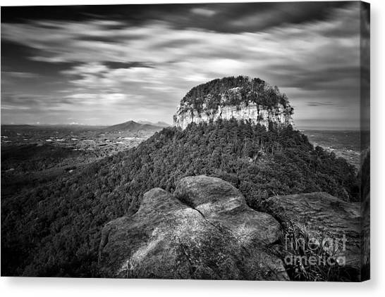Pilot Mountain 1 Canvas Print