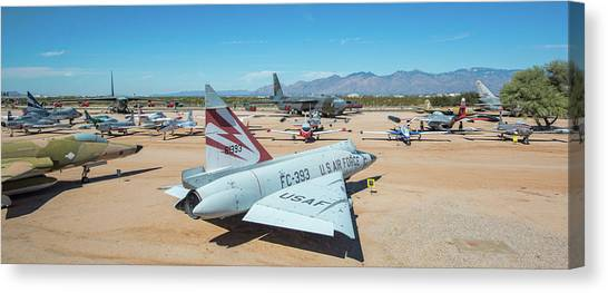 Canvas Print featuring the photograph Pima Air And Space Museum by Dan McManus