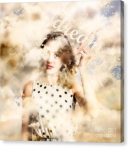 Canvas Print featuring the photograph Pin-up Your Dreams by Jorgo Photography - Wall Art Gallery